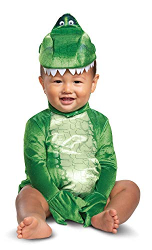 Disguise Baby Boys Rex Infant Costume, Green, (12-18 mths) (Big Baby Toy Story)