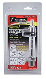 Trimax SXTC123 Stainless Steel Universal Coupler Lock for 7/8\