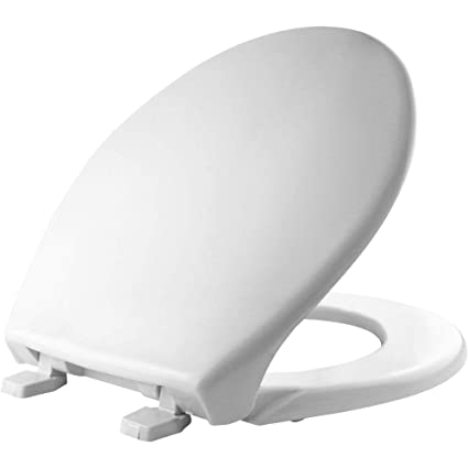 Excellent Bemis 900 000 Commercial Heavy Duty Closed Front Toilet Seat With Cover Round Plastic White Gmtry Best Dining Table And Chair Ideas Images Gmtryco