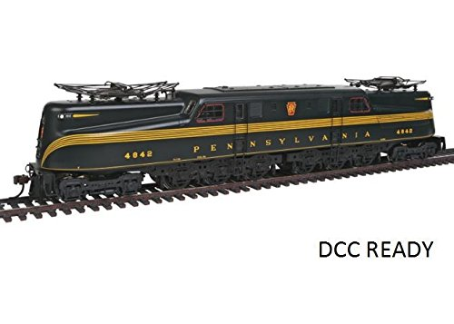 Bachmann Industries GG1 Electric DCC Ready PRR Brunswick Green 5 Stripe #4842 HO Scale Train Car