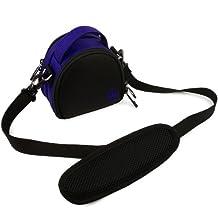 VanGoddy Mini Laurel Carrying Bag Case for Nikon COOLPIX S33 (Blue)