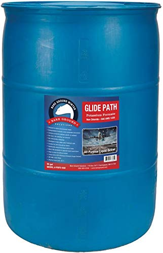 Bare Ground PoFo-55D Glide Path Liquid Deicer - Non-Chloride, Non-Conductive, Non-Toxic, Non-Polluting, 55 Gallons