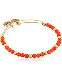 Alex and Ani Color Classics, Rosy/Rafaelian Gold Bangle Bracelet
