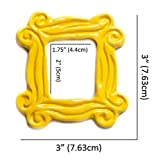Cool TV Props Friends Yellow Peephole Frame Magnet