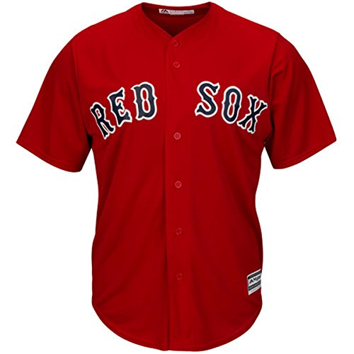 Red Sox Baseball Shirts (Boston Red Sox Blank Red Youth Majestic Cool Base Alternate 1 Jersey (X-Large 18/20))