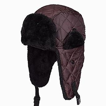 b3b006830ab Wholesale Hot Sale Bomber Hats Ushanka Russian Hat Fur Winter Hats sports  snow outdoor aviator ear