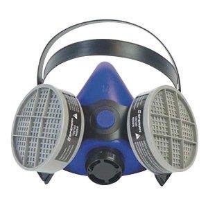 Honeywell Large Blue Silicone Half Mask 2000 S Series Respirator ()
