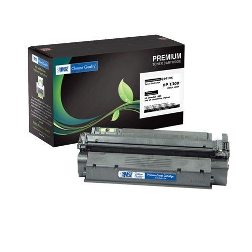 (MSE Q2613X Toner for HEWLETT PACKARD LaserJet 1300 Series, 4,000 Page Yield)