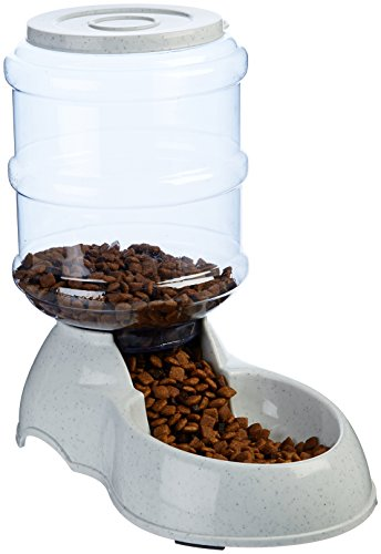 AmazonBasics Small Gravity Pet Food Feeder