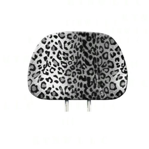 headrest covers leopard - 2