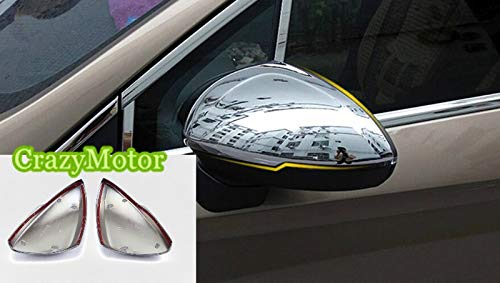 For Opel Astra K (Hatchback) 2015 2016 2017 ABS Chrome Rear View Mirror Trim Cover 2pcs/set