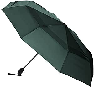 AmazonBasics Umbrella with Wind Vent, Green