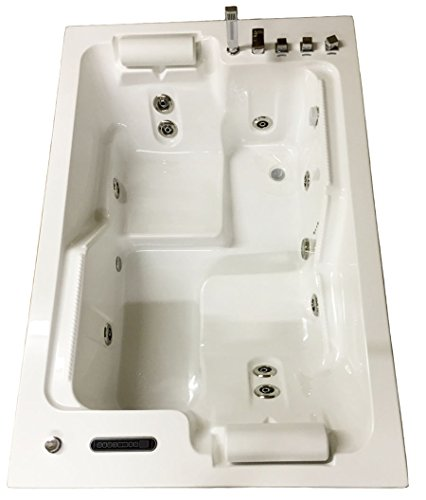 Whirlpool Tub Best - 2 PERSON Deluxe Computerized Big Whirlpool w/Heater M1812D