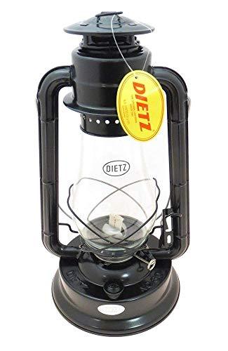 Mantle Kerosene Lantern One (Hurricane Lantern Blizzard Oil Burning Lantern (Black)