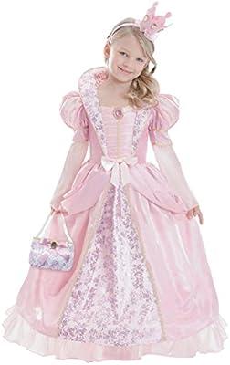 Amscan-ca14510 V1 L-Corolle Rosa-Disfraz de reina medieval para ...