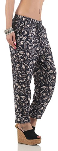 Wide Jogging Malito Pantalon Pants Jupe 2105 Femme Bleu 52 Rddf6wq