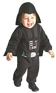 Star Wars - Disfraz de Darth Vader para niños, infantil 1-2 años (Rubie's  888260)
