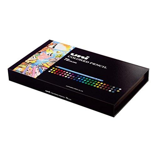 Mitsubishi Pencil Uni Colored Pencils 72 Colors Set by Mitsubishi Pencil Co., Ltd. (Image #11)