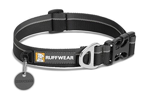 RUFFWEAR - Hoopie Collar, Obsidian Black, Large (2018)