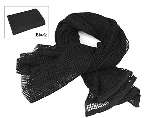 - Tactical Mesh Net Camo Scarf For Wargame,Sports & Other Outdoor Activities