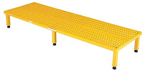 Adjustable Work Stand - Serrated Deck - BAHW Series; Deck Size (W x L): 24'' x 48''; Service Range: 9'' to 14''; Number of Legs: 4; Capacity (LBS): 500 by Beacon World Class Products (Image #3)