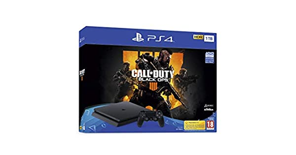 PlayStation 4 (PS4) - Consola de 1 TB + Call Of Duty Black Ops IV ...