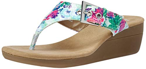Aerosoles A2 Women's Work Flow Wedge Sandal, Floral Combo, 5 M US
