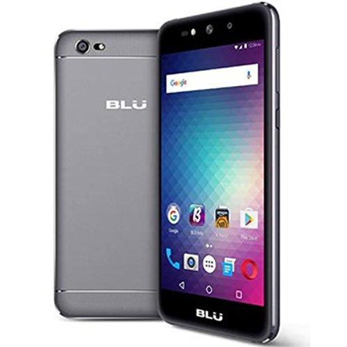 BLU Grand X G090Q Unlocked GSM Quad-Core Android Marshmallow Phone - Gray