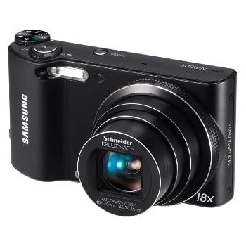 Amazon.com : Samsung WB150F Long Zoom Smart Camera - Black ...