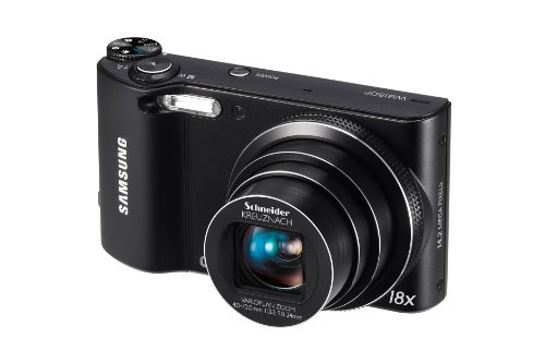 Samsung WB150F Long Zoom Smart Camera – Black (ECWB150FBPBUS) (Discontinued by Manufacturer)