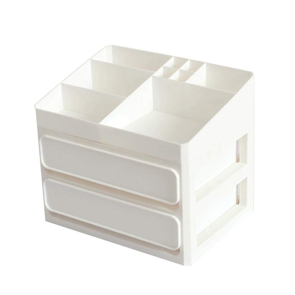Cajas de Maquillaje apilables 1//2//3 cajones Organizador multifunci/ón para maquillaje Joyero Organizador Cosm/éticos