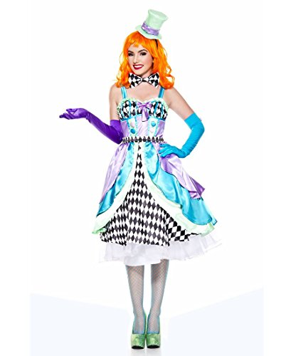Miss Mad Hatter Costume (Music Legs Miss Mad Hatter (X-Large))