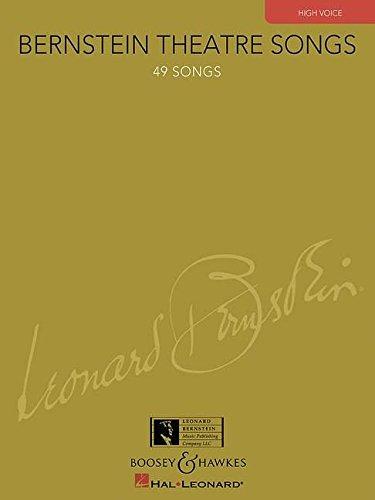 Read Online BERNSTEIN THEATRE SONGS - HIGH VOICE pdf epub