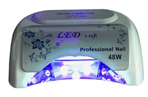 Healthy Care 48W Rechargeable UV Led Nail Lamp,Professional Nail Dryer, Gel Nail Polish Machine for Nail Salon