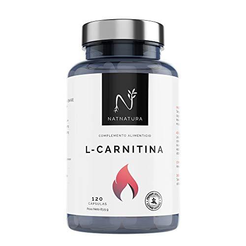 L-Carnitina.Complemento Alimenticio de L-Carnitina. Potente quemagrasas para adelgazar.Suplemento deportivo de alta concentración para mejorar el rendimiento, resistencia y recuperación.120 cápsulas. a buen precio