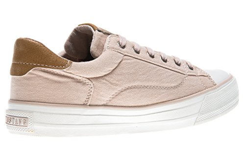 301 1272 Women's Beige Sneakers Rose UK 44 Mustang Top Low 5 Beige 555 EgHwwxq