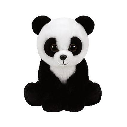 16bcb4b7ee0 Amazon.com  Ty Beanie Babies 41204 Panda Cuddly Toy – Baboo