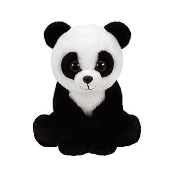 TY - Beanie Babies Baboo, peluche panda, 23 cm (United Labels Ibérica 96305TY