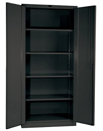 Hallowell HWSCCL Gray Steel DuraTough Classic All Welded - Lab storage cabinets