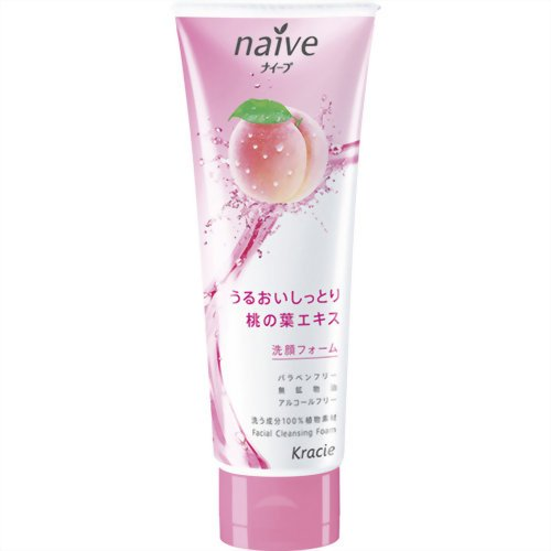 naive-cleansing-foam-peach-leaf-110g