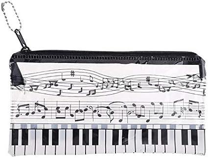 YFairy - Estuche para lápices, nota musical, teclado de piano ...