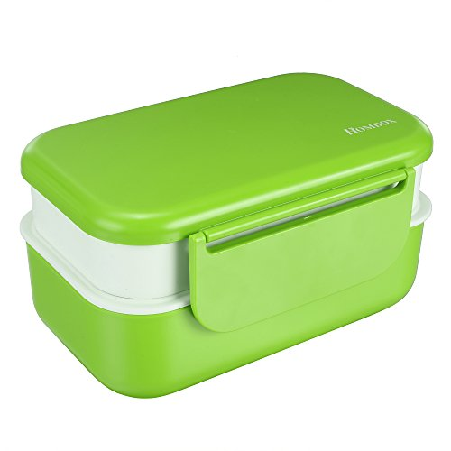 Bento Lunch Box 3 Removable Compartments 2 Laye...