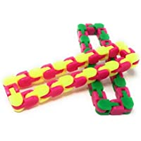 Wacky Tracks Snap and Click Fidget Toys for Sensory Kids-Snake Puzzles-Tactile Fidget Toys by OTTC- Fidget Toys for Autistic Children-Fidget Toys for Anxiety