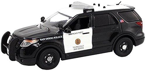1/43 フォード エクスプローラー サンディエゴ市警察 (ブラック×ホワイト) FR-FDU-103