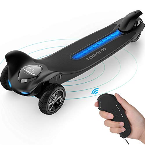 TOMOLOO Electric Skateboard and Three Wheels Electric Skateboard for MAX 265 lbs and Smart Electric Scooter Motorized Longboard with UL2272 Certified for Adults and Children -