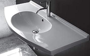 Consolle In Ceramica Per Bagno.Jo Bagno It Consolle Lavabo Per Mobile Semincasso Asia 106