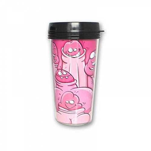 Bachelorette Party Favors Bachelorette Pecker Travel Mug by Bachelorette Party Favors (Image #1)