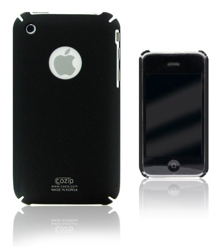 Apple Iphone 3g Snap - Cozip Polycarbonate Snap On Slim fit Back Case Cover for Apple iPhone 3G / 3GS ( Black )