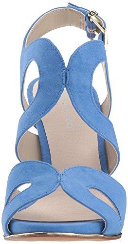 Sandalen Cerulean Absatz Frauen Sandalen mit Frauen qwXwaFE