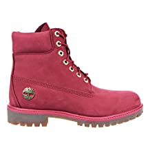 Timberland 6 Inch Premium Waterproof Men's Boots Red tb0a1jlt